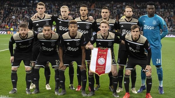 L'équipe pour Real - Ajax