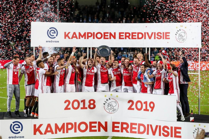 Ajax, champion des Pays-Bas 2019